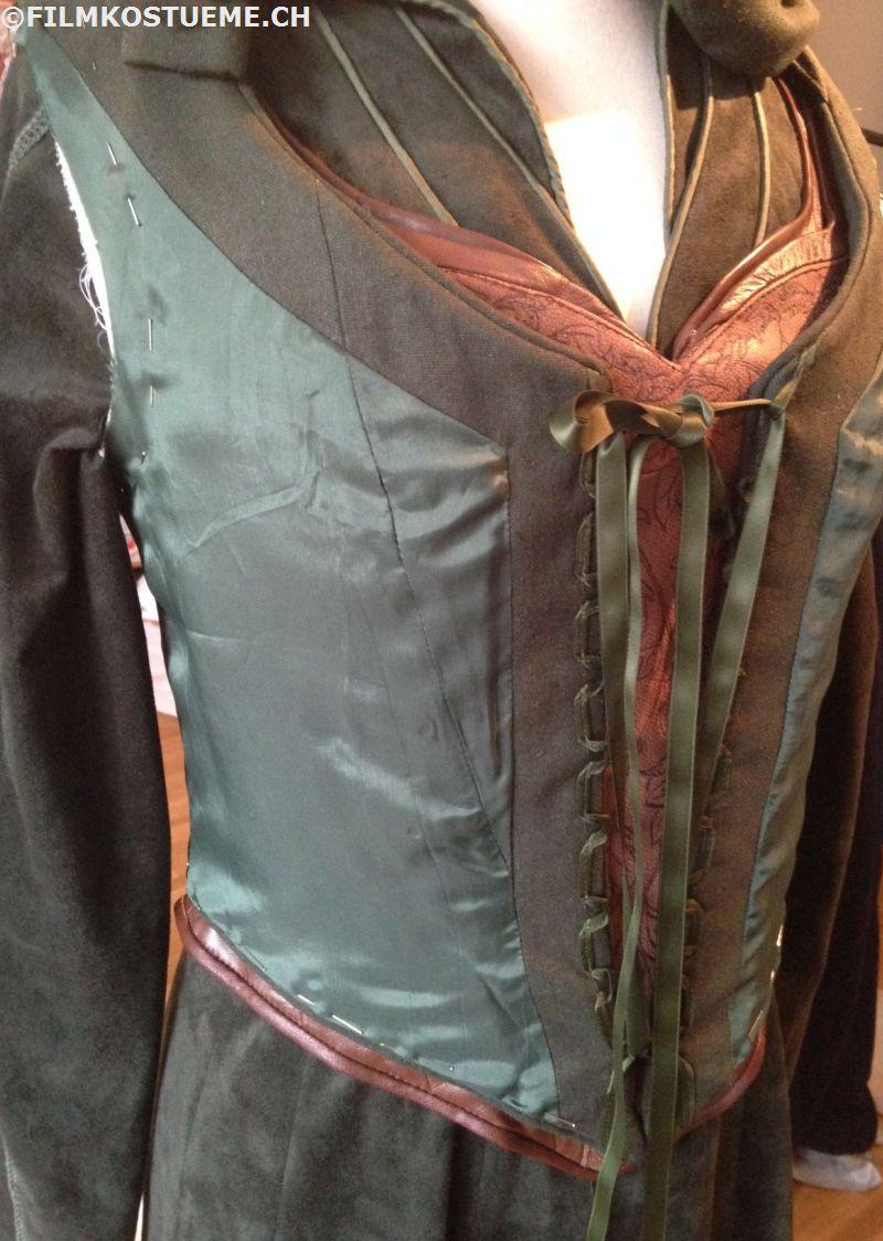Tauriel traveling cloak