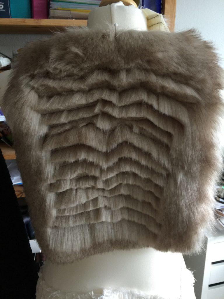 Daenerys white furcoat WIP 007