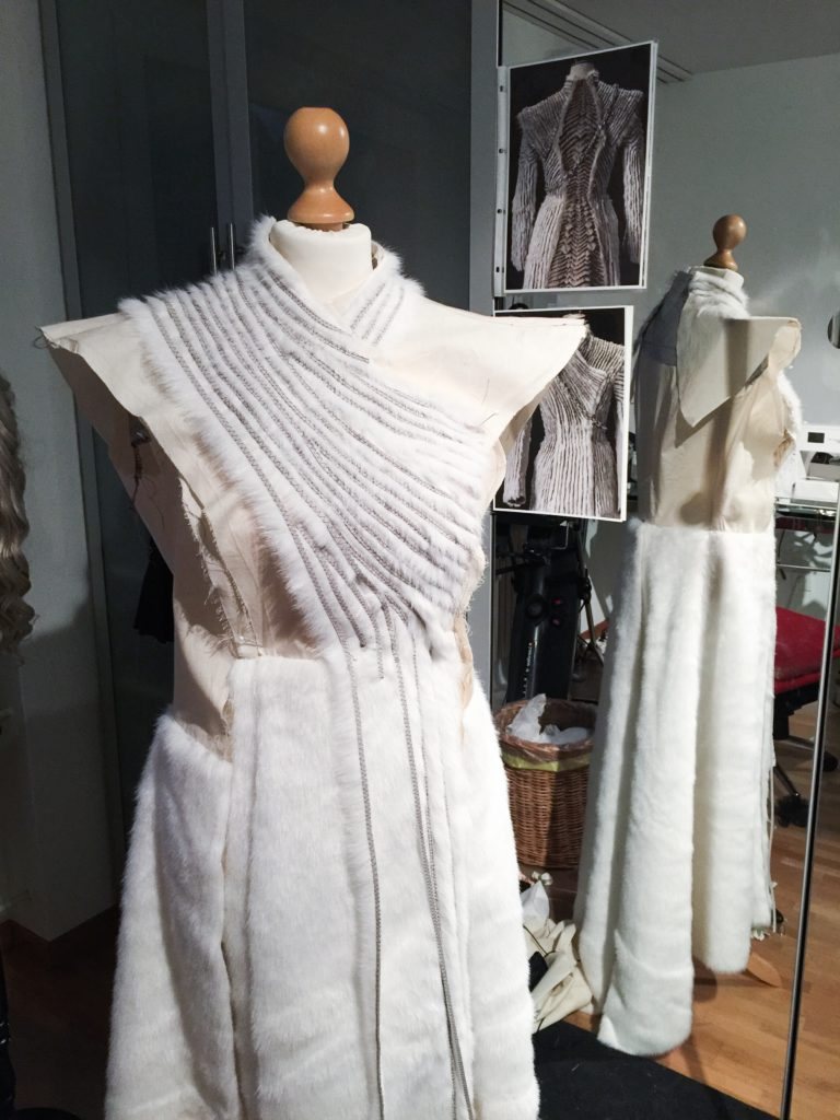 Daenerys white furcoat WIP 064