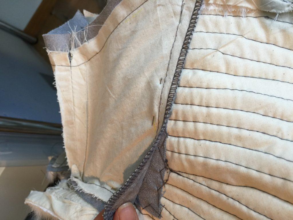 Daenerys white furcoat WIP 155