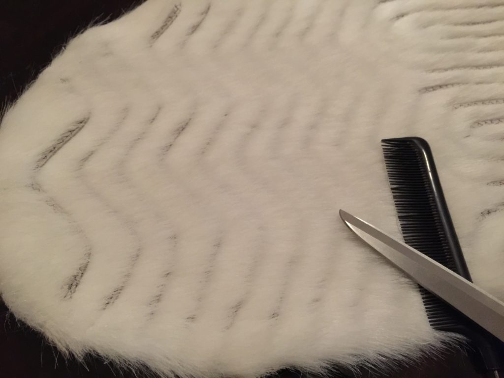 Daenerys white furcoat WIP 182
