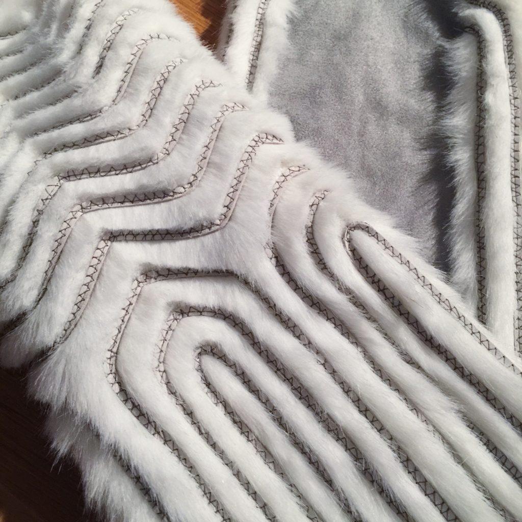 Daenerys white furcoat WIP 191