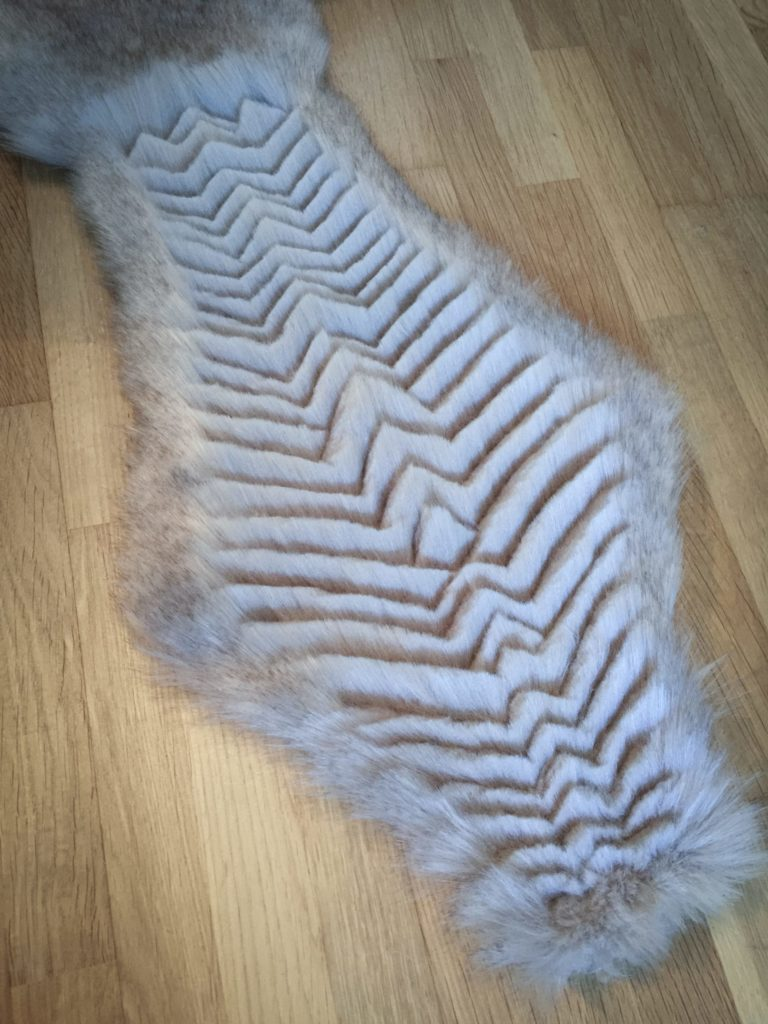 Daenerys white furcoat WIP 226