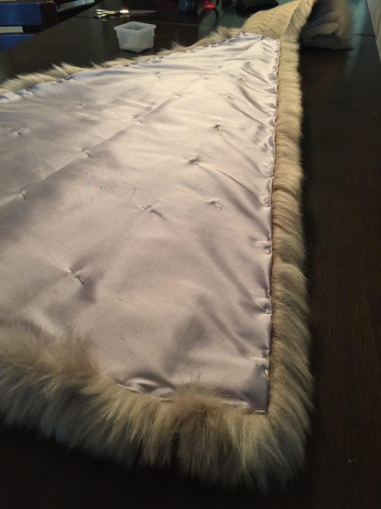 Daenerys white furcoat WIP 269