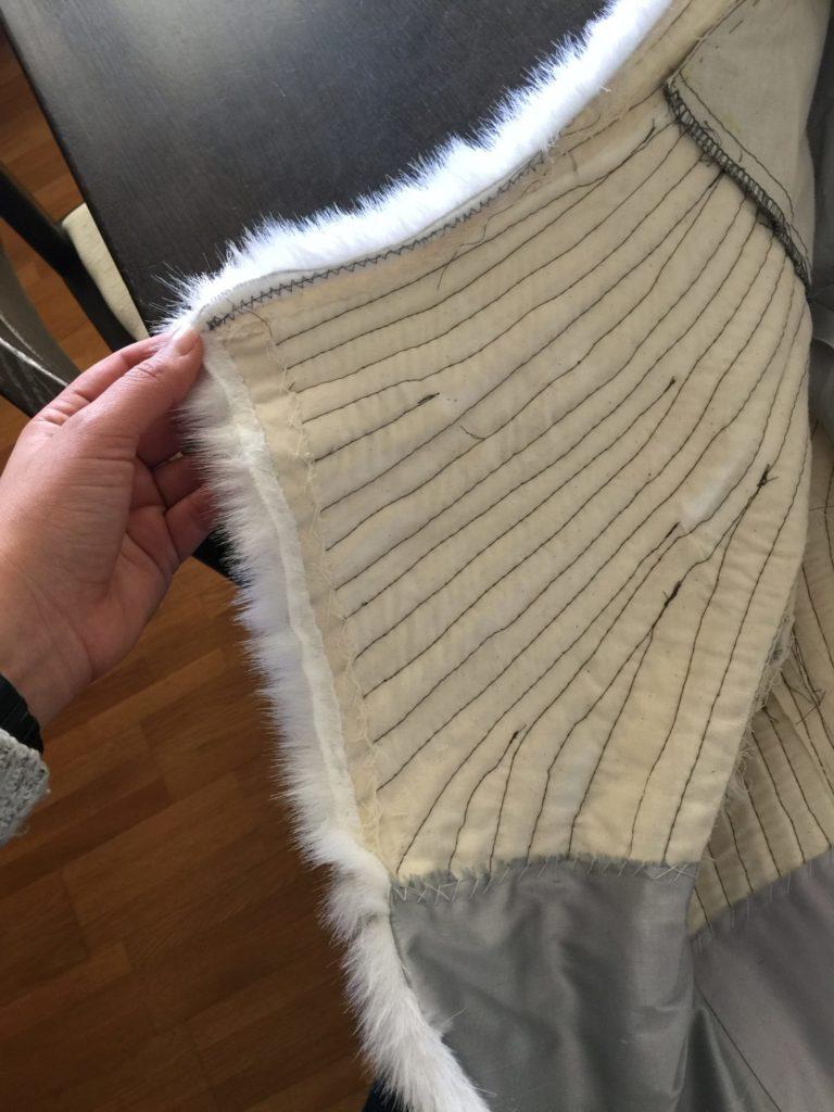 Daenerys white furcoat WIP 279