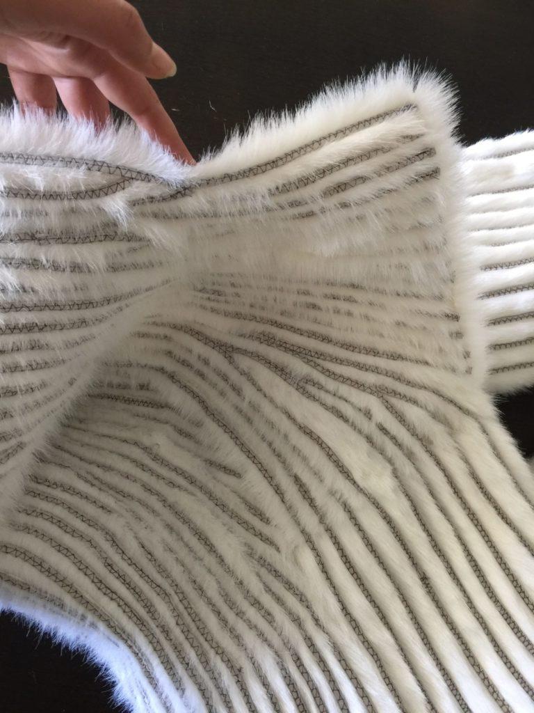Daenerys white furcoat WIP 280