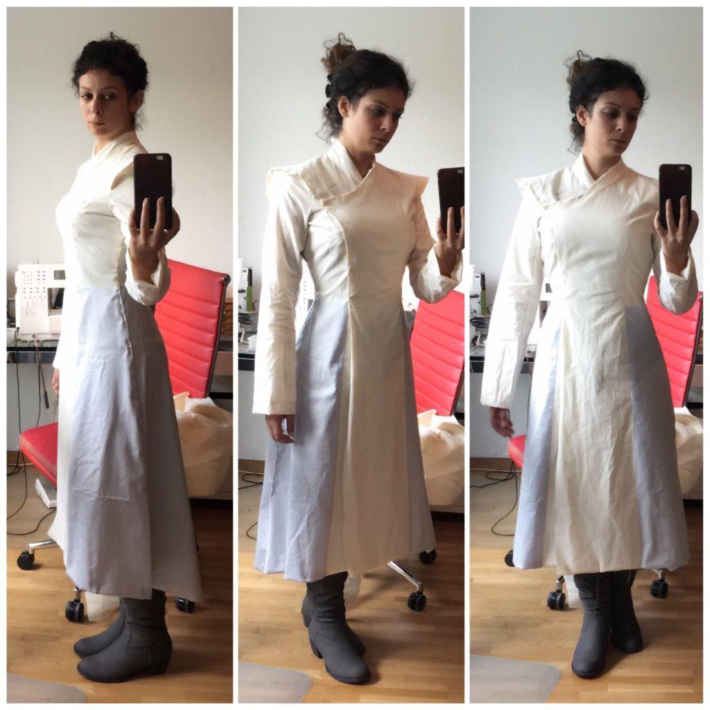 Daenerys white furcoat WIP 128